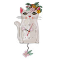 Pretty Kitty Clock | Allen Designs Wall Clocks