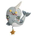 Narly Narwhal Clock | Allen Designs Wall Clocks