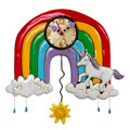 Rainbows & Unicorns Clock | Allen Designs Wall Clocks