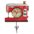 Double Stitch Sewing Machine Clock
