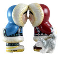 Eskimo Kiss Salt & Pepper Shakers
