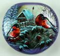 Bullfinches - shell | Fedoskino Lacquer Box
