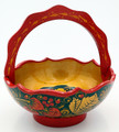 Khokhloma Fruit Vase - Small