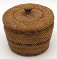 Antique Makah Indian Hand Woven Basket