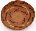 Antique Tlingit Native Hand Woven Plate