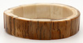 Mammoth Ivory Stretch Bracelet - 16mm