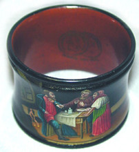 The napkin ring is in superb condition.
