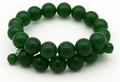 Green Jade Bead Wrap Bracelet