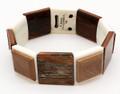 Ivory Stretch Bracelet