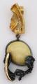 Unique Oval Butterscotch Shade Baltic Amber Pendant
