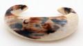 Fossil Walrus Ivory Cuff Bracelet