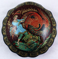 Story of Youth-bringing Apples and Live Water   Kholui Lacquer Box