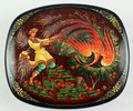 Catching the Firebird by Mukhin | Kholui Lacquer Box