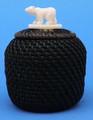 Polar Bear Mini Baleen Basket by Carl Hank