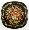 Flowers and Butterfly | Mstera Lacquer Box