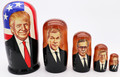 American Presidents Nesting Doll