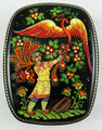 Russian Lacquer Box - Ivan and Firebird