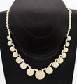 Graduated Mammoth Ivory Discs Necklace