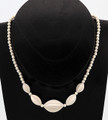 Fossil Mammoth Ivory Bead Necklace