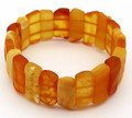 Stretch Honey - Butterscotch Amber Bracelet