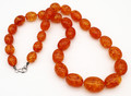 Baltic Amber Large Oval Beads