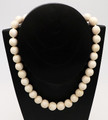 Fossil Walrus Ivory Bead Necklace