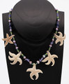 Mammoth Ivory Necklace - Sea Stars