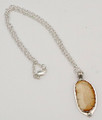 Walrus Ivory Oval Necklace