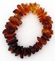 Baltic Amber Stretch Bracelet Multicolor