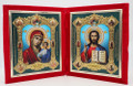 Russian Diptych Travel Icon