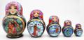 Magic Russian Fairy Tales Matryoshka| Fine Art Matryoshka Nesting Doll