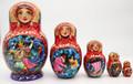 Magic Russian Fairy Tales | Fine Art Matryoshka Nesting Doll