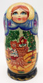 """Masha and Bear"" Traditional Matryoshka Nesting Doll"