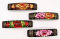 Floral Barrette - Assorted Rectangle | Zhostovo