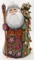 Ded Moroz with Christmas Tree by Trifonova | Grandfather Frost / Russian Santa Claus