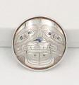 Silver Bear Pin/Pendant - Native Alaskan Silver Jewelry