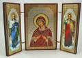 Russian Three-Panel Folding Icon