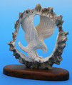 Moose Antler Landing Eagle | Bone and Antler Carvings