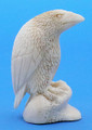 Moose Antler Wise Raven | Bone and Antler Carvings