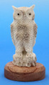 Moose Antler - Owl | Bone and Antler Carvings
