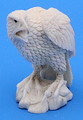 Moose Antler - Sitting Eagle | Bone and Antler Carvings