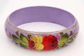 Zhostovo Floral Bracelet - Purple | Zhostovo