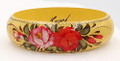 Zhostovo Floral Bracelet - Yellow | Zhostovo