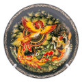 Firebird Palekh Decorative Plate Small - Russian Souvenir