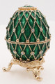 "Small Egg ""Net"" - Green 