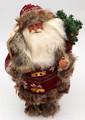 Santa with Skis   Anita's Santas