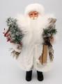 Santa - White Coat | Anita's Santas