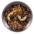 Russian North Palekh Decorative Plate Large - Russian Souvenir