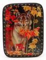 A Lone Wolf Box - Russian Souvenir