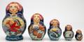 Emelya and Magic Pike by Lonchenkova | Fine Art Matryoshka Nesting Doll